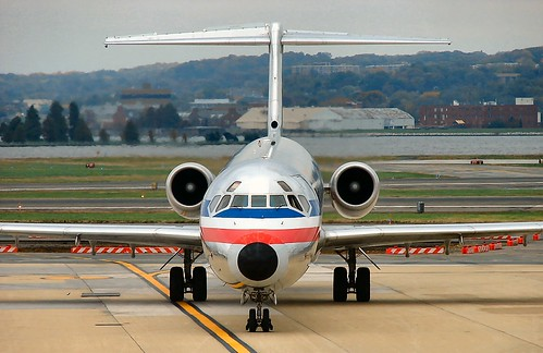 American Airlines | McDonnell Douglas MD-80 | Washington Ronald Reagan Intl. | by lynxboy_252