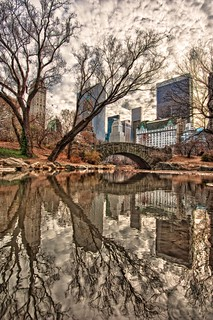 Reflections in Central Park HDR | by Dave DiCello