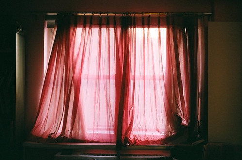 The heat rising from my radiator would be trapped behind the drapes, and I would be cold. | by Nina Perlman