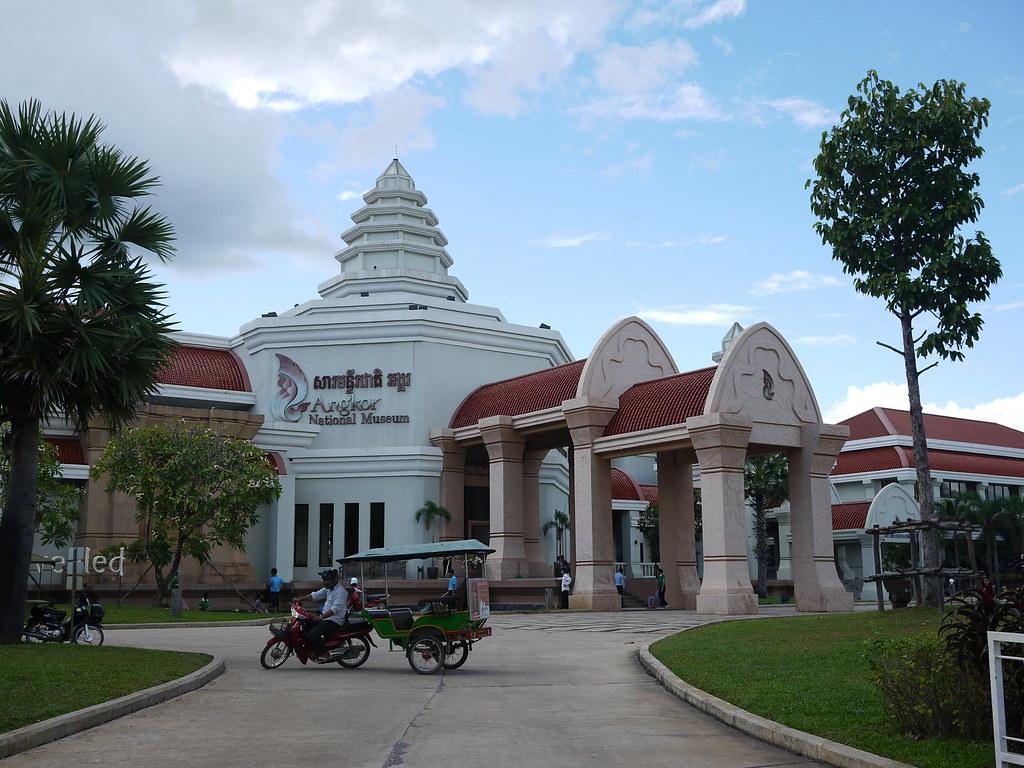 cambodia, siem reap, museum, angkor wat