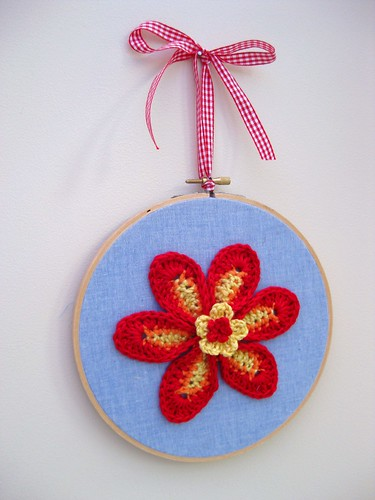Crochet flower picture | by bunny mummy