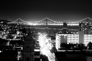 Bay Bridge over Broadway | by enclave93401