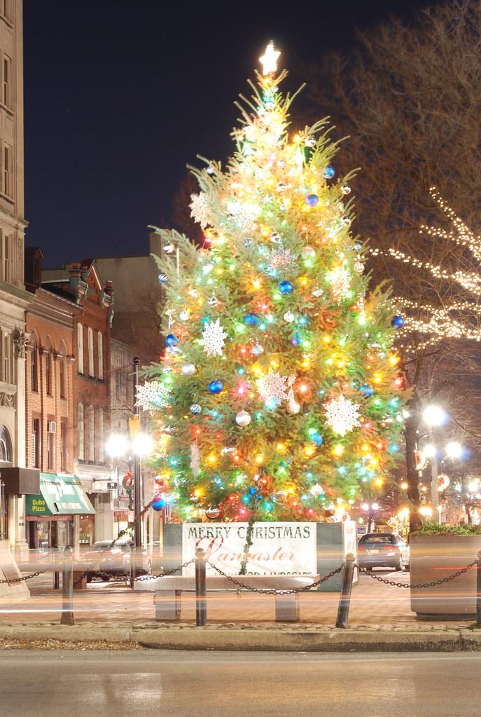 downtown lancaster pa christmas tree 2010 by prestonmoragne