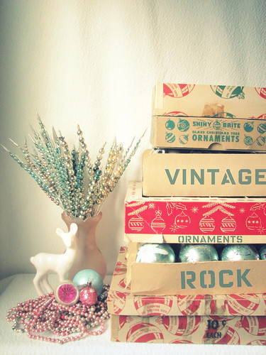 My Vintage Ornaments Rock!! | by Trisha Brink Design
