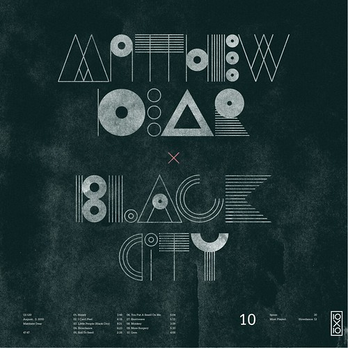 10.Matthew Dear - Black City | by Skinny Ships