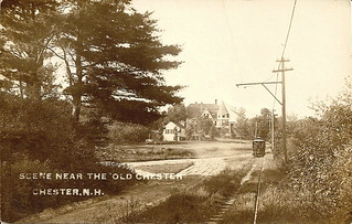 Scene Near the Old Chester, Chester, N.H. 1909 | by derrypubliclibrary
