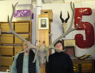American Gothic with Elk | by Accumulata