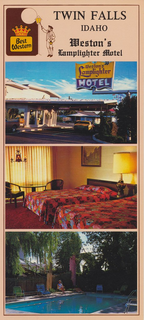 Weston's Lamplighter Motel - Twin Falls, Idaho