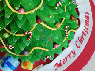 Christmas tree cake | by Sweet Disposition Cakes