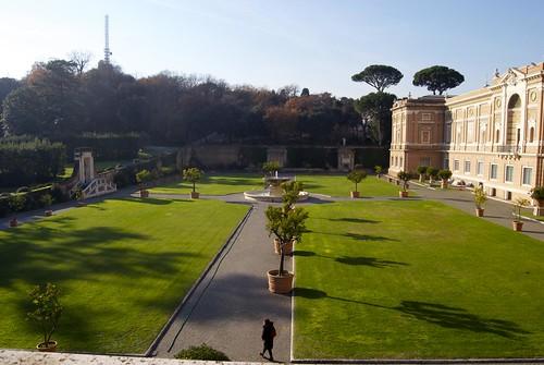 Giardino Nei Musei Vaticani 30 Dicembre 2010 Musei