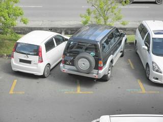 Backing Into Parked Car Diagram Neighborhood
