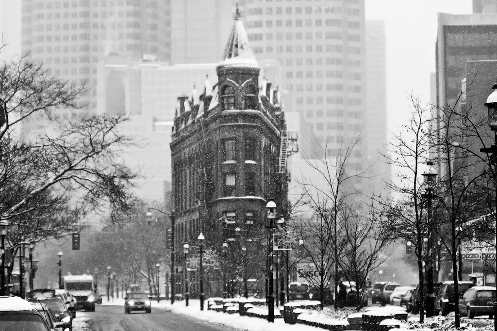 The gooderham flatiron building in toronto ontario by christopher brians photography