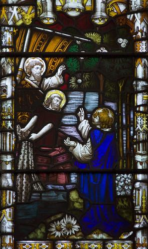 Jesus calls Simon Peter & Andrew
