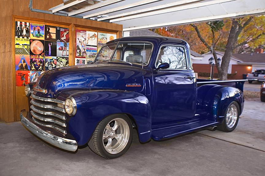 Tulsa Chevy pickup truck 1948-50-52-53 Chevrolet old blue | Flickr