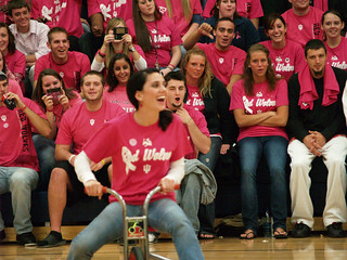 IU East Volleyball-Pink Out! | by iueast