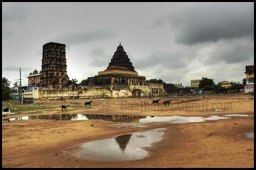 Serfoji Ii Maratha Kings Palace In Tanjavur Tamil Nadu