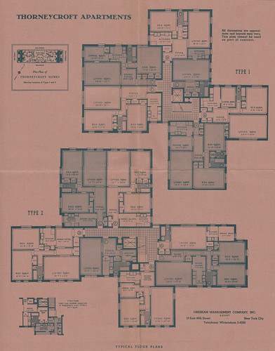 Thorneycroft apartments 66th rd 99th st 66th ave 102nd st thorneycroft apartments 66th rd 99th st 66th ave 102nd st forest hills ny historic blueprints promotional booklets flickr malvernweather Gallery