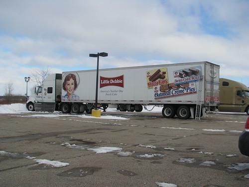 Jobs In Trucks >> Little Debbie trailer   Dave Markvart   Flickr