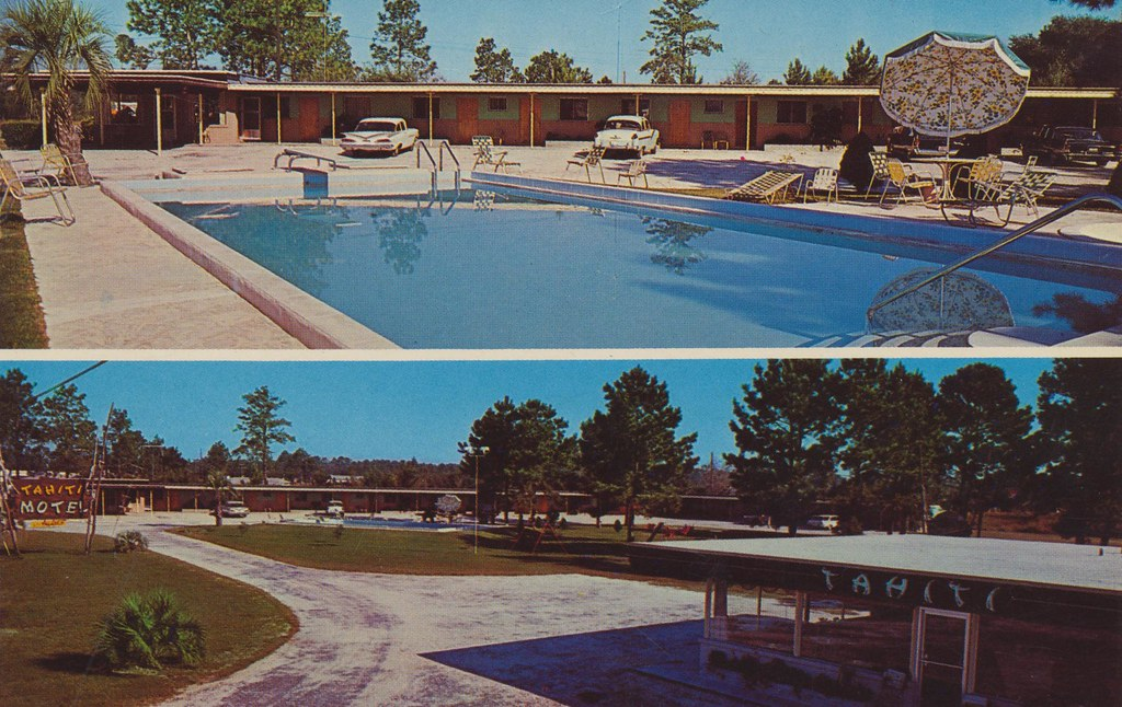 Tahiti Motel & Restaurant - Folkston, Georgia