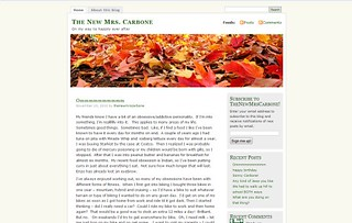 The New Mrs. Carbone | by Blogging Women