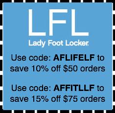 ladies footlocker coupons by amy marie