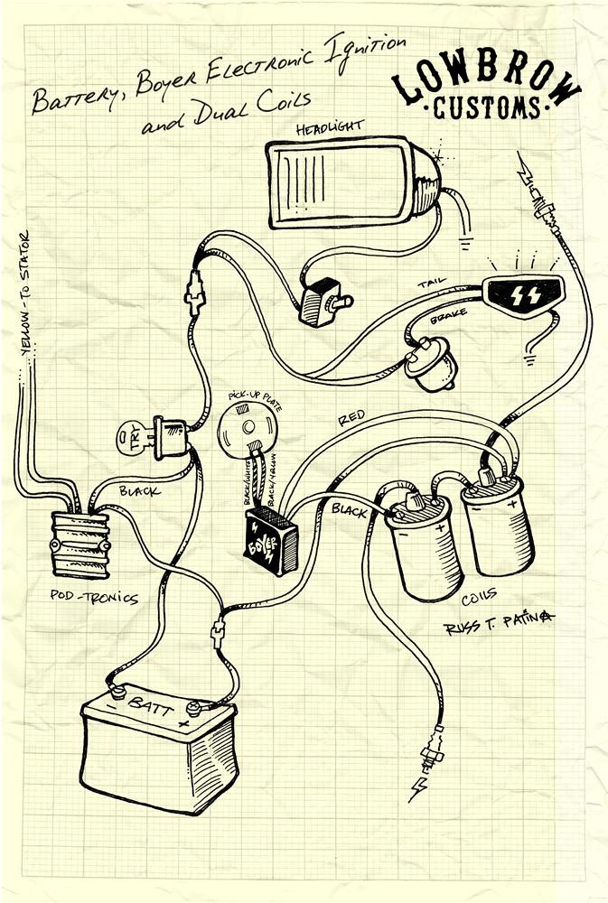 triumph british wiring diagram boyer dual coil biltwell inc flickr rh flickr com