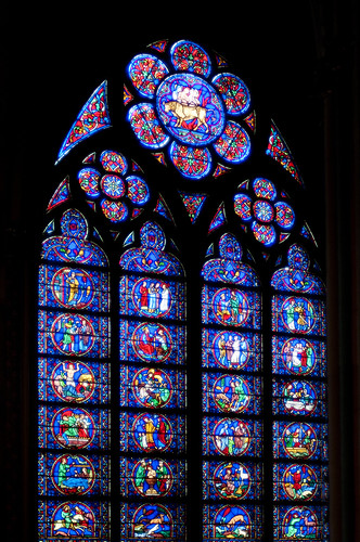 France - Paris - Notre Dame Stained Glass 01 | by Darrell Godliman