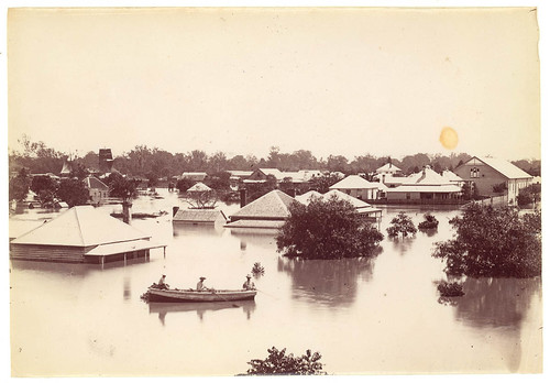 Floods at Grafton, 11 March 1890 | by State Library of New South Wales collection