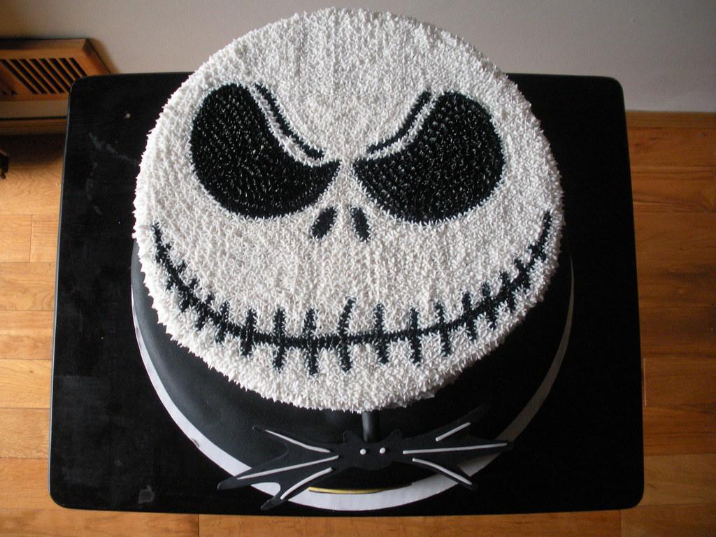 Jack Skellington Cake 1 Yared Deleon Flickr