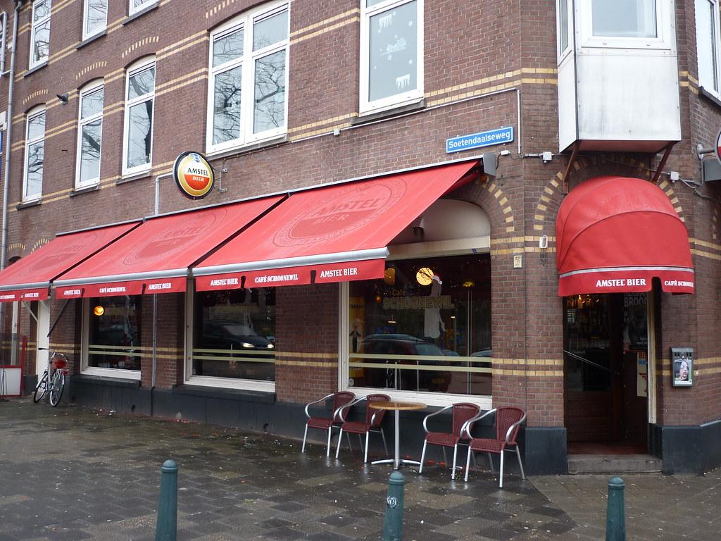 Zonwering In Rotterdam : Cafe schoonewil rotterdam nieuwe zonwering cafe schoonewiu flickr