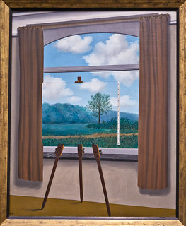 La condition humaine, 1933:  Rene Magritte | by ehpien