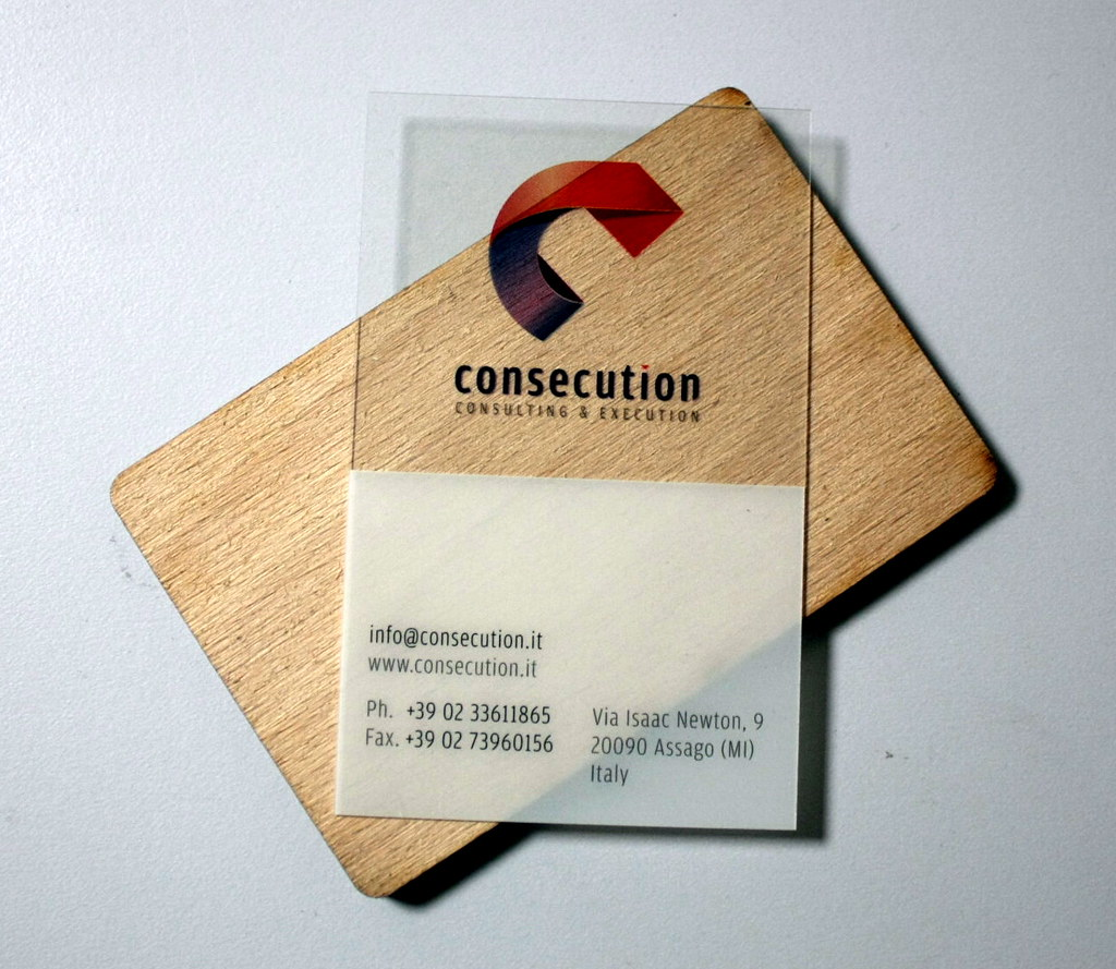 transparent business cards | transparent plastic business ca… | Flickr