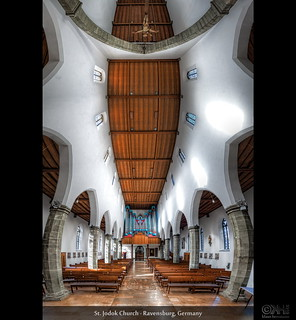 St. Jodok Church - Ravensburg, Germany (HDR Vertorama) | by farbspiel