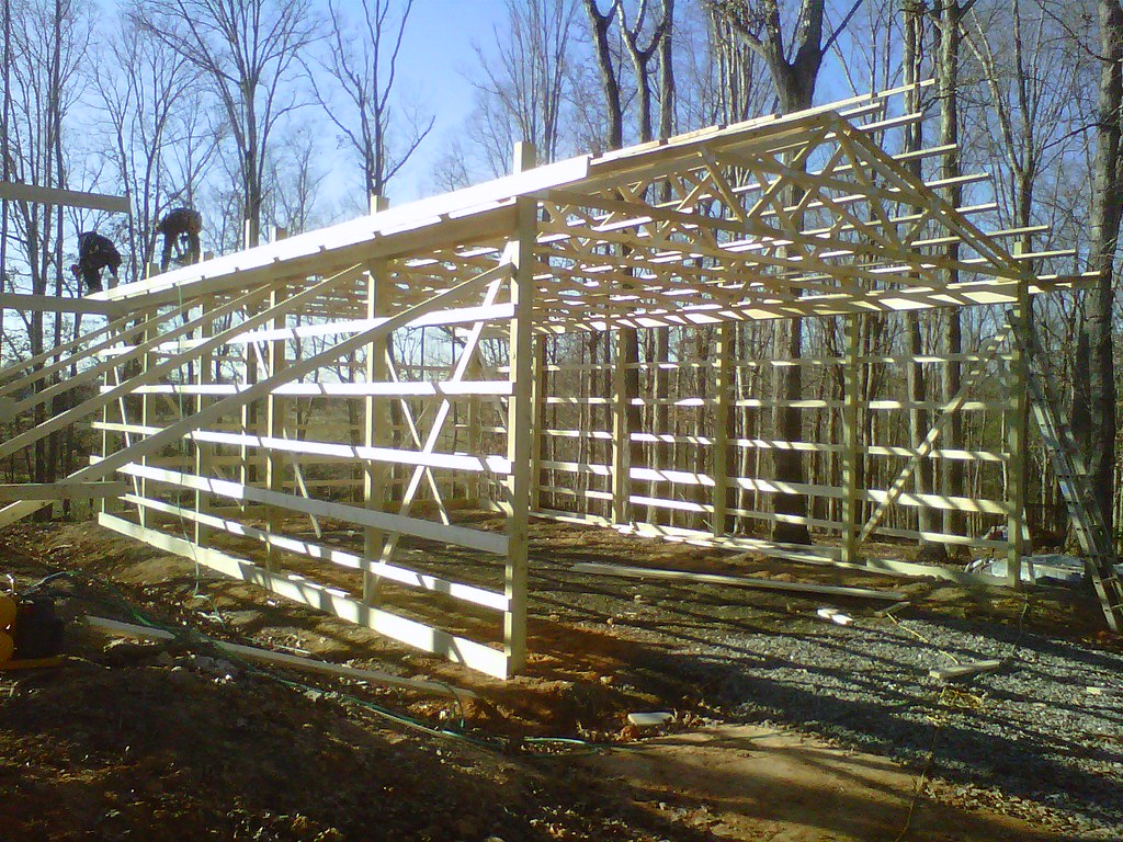 DIY Pole Barns Hay Storage