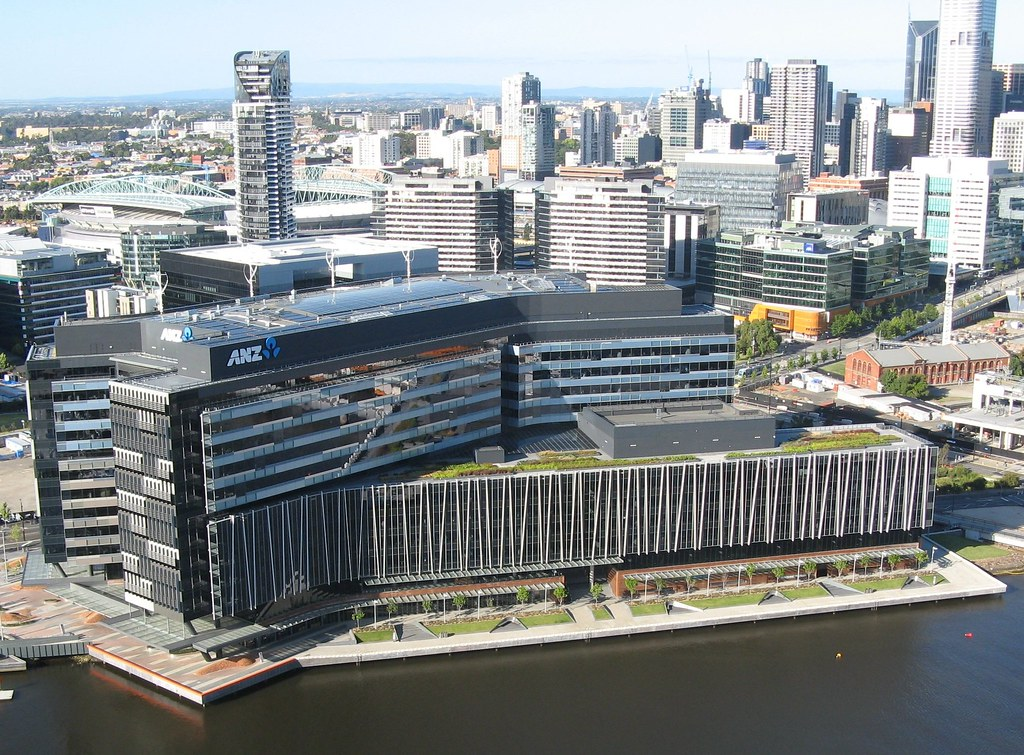 anz melbourne office. anz hq melbourne docklands by docklandstony anz office