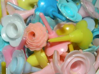 Plastic Cake Decorations