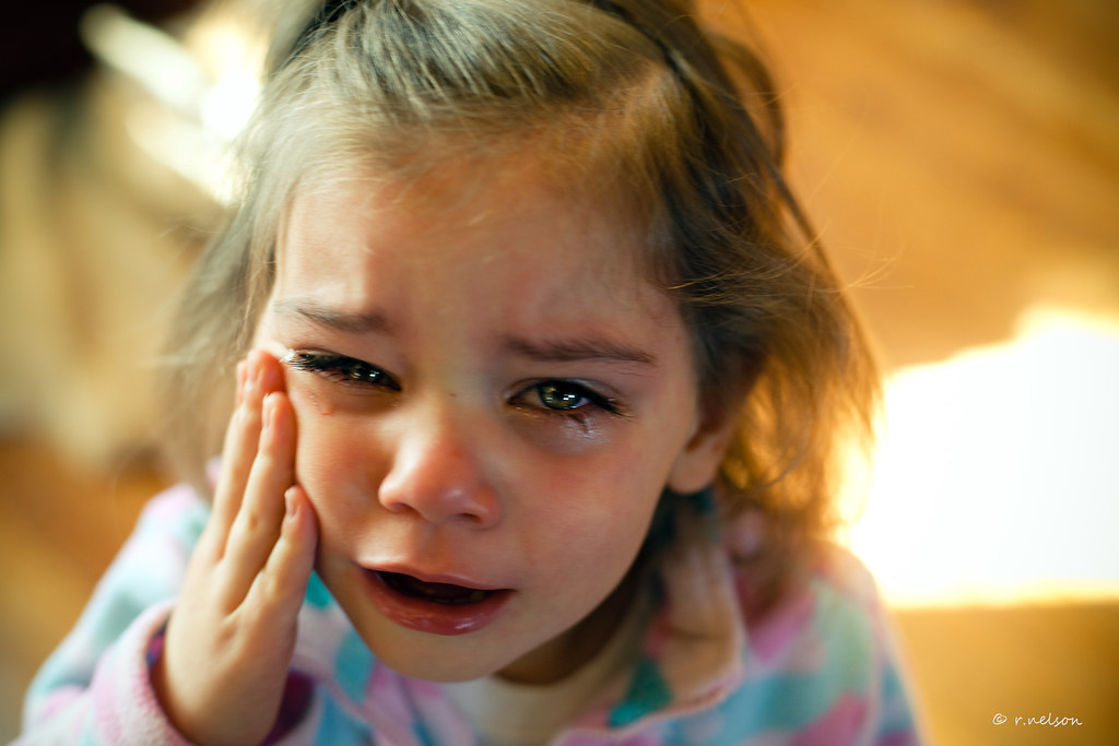 ... Crying 2 year old girl | by Rebecca812