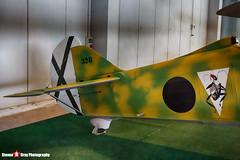 C1-328 3-6 24 - 328 - Italian Air Force - Hispano HA-132 Chirri FIAT CR.32 - Italian Air Force Museum Vigna di Valle, Italy - 160614 - Steven Gray - IMG_0051_HDR