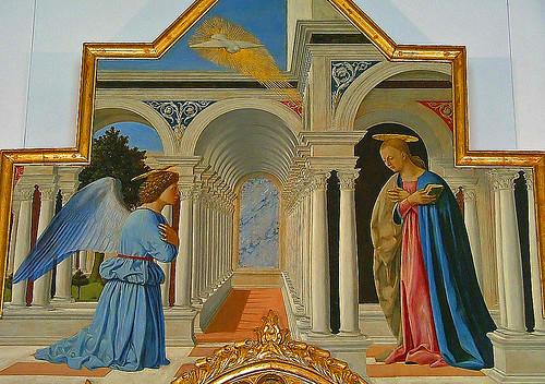 Piero della Francesca, The Annunciation | Piero della ...