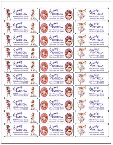 ... Ooo La La Fancy Nancy Ecstatic Extraordinary Printable Return Address  Label  Matches Invitation | By  Printable Return Address Labels Free