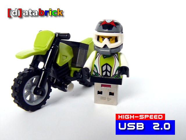 memory stick motocross custom | Custom made usb minifig stic… | Flickr
