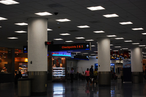 miami international airport at american airlines terminal