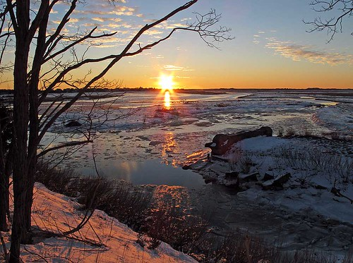 Photo of the week sunrise at parker river national wildl for Mass fish and wildlife