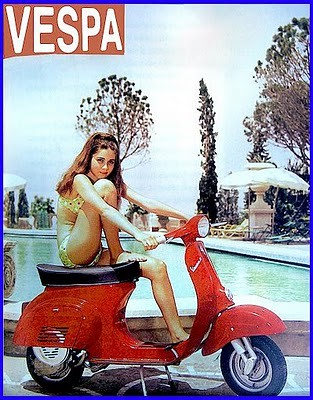 Vespa Romina Power 3652 Scooter Italien Modele Romina