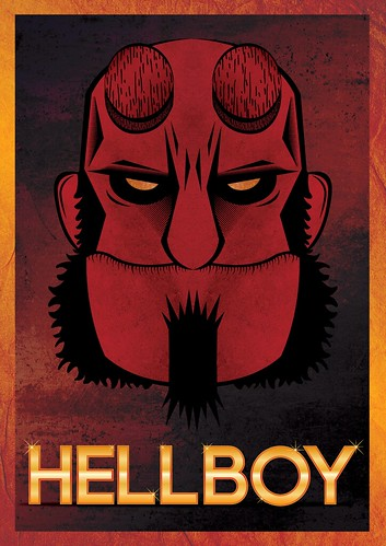 Hellboy Poster - Tutorial ( Second Version) | by Marcos D. Torres