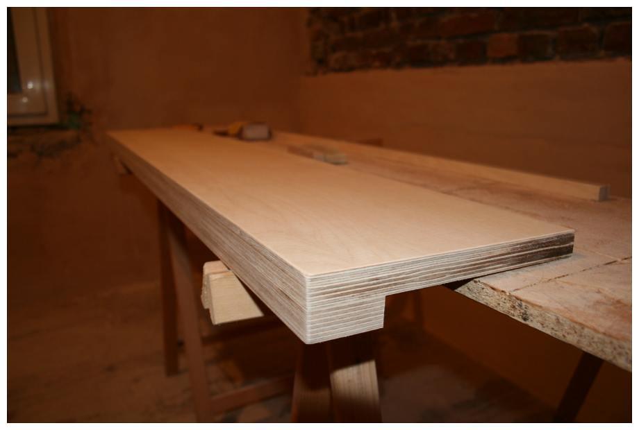 Holzfensterbank | Holzfensterbank nach dem aufdoppeln und de… | Flickr