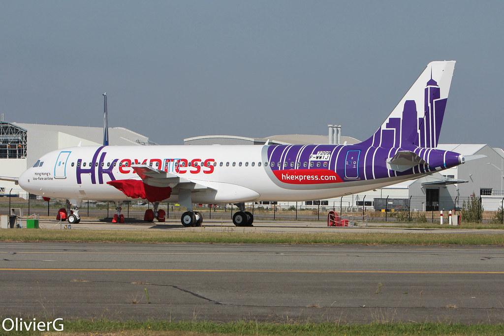 A320-271N HongKong Express MSN7209 F-WWIJ (B-LCL) - TLS | Flickr