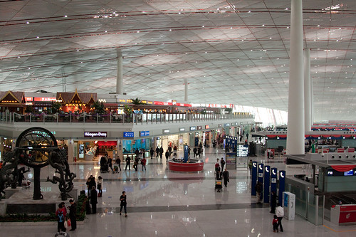 Beijing Airport ... one of the nicest I have been in. | by atkinson000