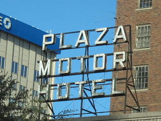 Plaza Motor Hotel Sign, El Paso, TX | by DEMcSee