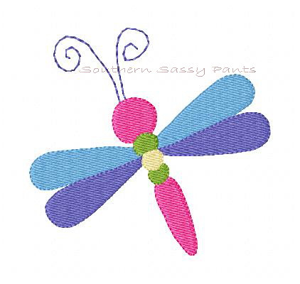 Dragonfly Embroidery Design For More Info Please See My Pr Flickr